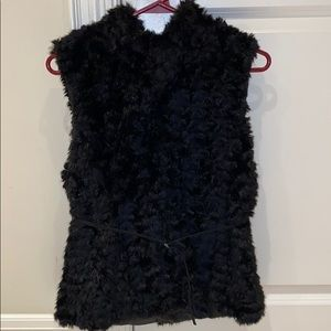 (2 for $30) Zara very soft faux fur vest